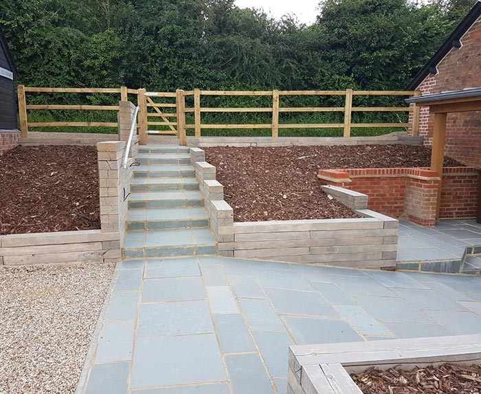 Farmhouse Garden Transformation in Buntingford