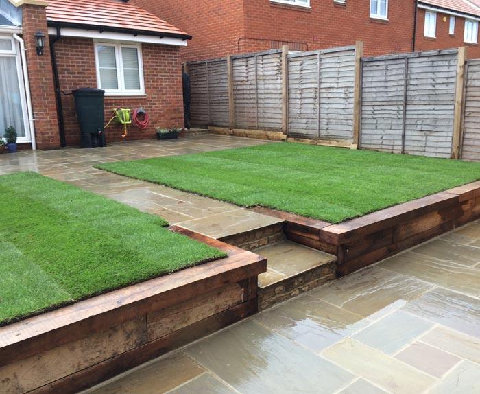 Garden Completed Corner View