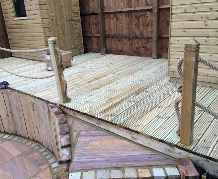 New Decking Complete